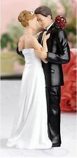 "SALE ""Tender Embrace"" Cake Topper -Bride Groom NEW!!!!!! SALE"