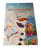 Disney Doppel-Minibuch-Adventskalender 2016 - Zoomania + Eiskönigin -Weihnachten