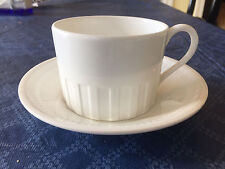 Wedgwood Colosseum (Whiteware) teacup / flat cup and saucer