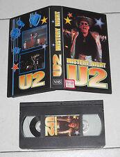 Vhs U2 MISTERY NIGHT - Ottimo Video BONO VOX