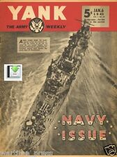 "CD File 2 Issues YANK USA Ed. 1943  The Navy Fights & ""Harlem's Hellcats""  PDF"