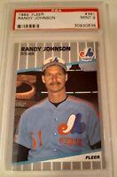 1989 FLEER RANDY JOHNSON RC #381 ▪︎ PSA 9 MINT ▪︎ FREE SHIPPING ▪︎