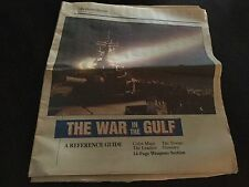 "The Charlotte Observer ""The War in the Gulf"" Reference Guide February 12, 1991"