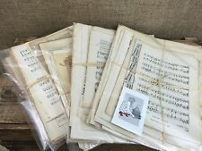 Vintage Music Sheet Paper Pack for Paper Crafts Antique Song Music Paper Decor