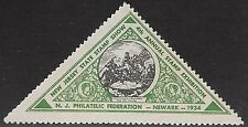 USA Cinderella: 1934 New Jersey Philatelic Federation,4th Annual Stamp Ex-dw234b