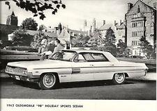 "1962 OLDSMOBILE ""98"" HOLIDAY SPORTS SEDAN PERIOD PRESS PHOTOGRAPH."