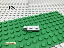 LEGO® 10Stk Gelenkfinger Hellgrau 44301 1x2 Platte Plate Gelenk