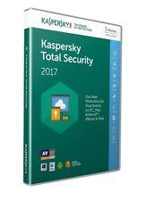 Kaspersky Total Security 2017 - 5 appareils, 1 AN, Boîte De Détail (PC/Mac/Android)