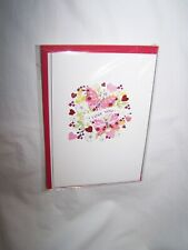 Hallmark Signature Valentine's Day Greeting Card; Butterflies ~ I Love You