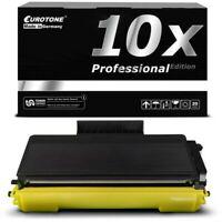 10x Eurotone Pro Cartucho Compatible para Brother DCP-8880-DN HL-5340-D