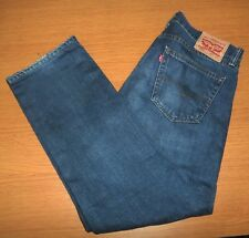 LEVI'S 505 Regular Fit Jeans Size 34x30