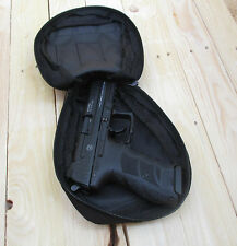 schwarze Pistolen Tasche Nylon * Cover Pistol Pouch * Holstertasche Molle