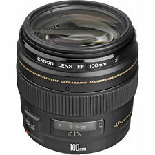 Canon EF 100mm f /2.0 USM Telephoto Autofocus Lens NEW