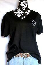 ZARA Boyfriend TEE Shirt Top Bluse M 36 38 40 leger oversize NEU schwarz weiß