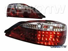 Led Tail Lights Lamp Red Clear For 1999 2000 2001 2002 Nissan 200SX Silvia S15