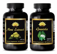 Anti aging - NONI EXTRACT – GRAVIOLA COMBO - graviola fruit extract
