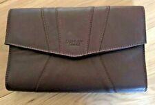 Osprey London Handbag Clutch Bag Brown Leather By Graeme Ellisdon