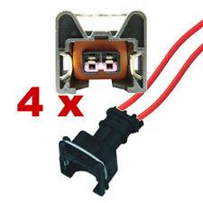 Pluggen injectoren - BOSCH EV1 met kabel (4 x FEMALE) connector plug verstuiver