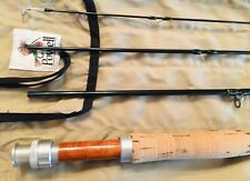 Chico IM6 Light Touch IM6 Powell Rod Co 4 Pc 8' 5-6wt Fly Fishing Rod W/ Tube