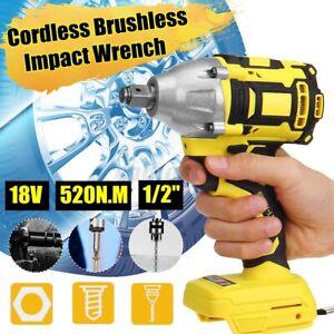 🔥Cordless Brushless Impact Wrench 18V 520Nm 1/2'' For Makita Battery DTW285Z