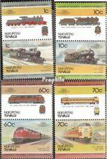 Tuvalu-Nukufetau 31-38 Koppels (compleet.Kwestie.) postfris MNH 1985 Locomotieve