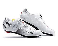 SIDI KAOS Road Cycling Shoes - White/White