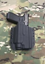 Black Kydex Light Bearing Holster for Glock 34 35 Streamlight TLR-2