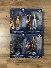 DC Multiverse Lot of 4 Batman, Wonder Woman, The Ray, & Vixen (NO BAF)