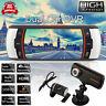 "2.7"" Dual Lens Car Vehicle DVR 1080P HD Dash Camera Cam Night Vision Recorder"
