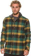 Billabong Men Venture Multi- Color Button Front Hoodies Large M509CVEN