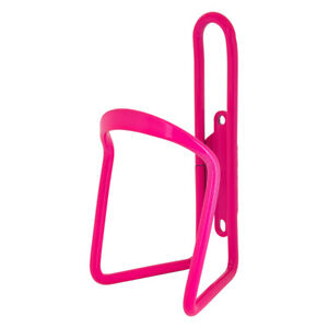 Sunlite Alloy Bicycle Water Bottle Cage Neon Pink