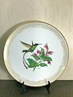 "Vintage Edward Marshall Boehm ""Streamer Tailed HummingBird"" Collector Plate"
