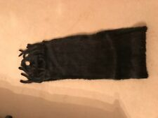 Genuine MINK  Stole/Scarf - Rich dark brown - Formal or Casual NEW RRP £360