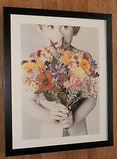 Secret Admirer - Betsy Cameron - child portrait print -20''x16'' frame, cute art