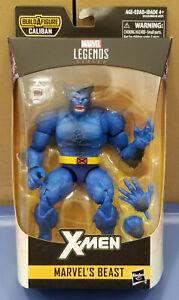 Marvel Legends Beast Hasbro 2019 Caliban Series X-Men Jim Lee MOC NEW Blue