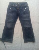Pantacourt jeans pour femme taille 36 us27