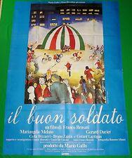 Y5 MANIFESTO ORIGINALE 4F IL BUON SOLDATO MELATO VESPA MOTO P. CALIGIURI ART POP