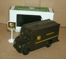 """1/55 Scale UPS Delivery Truck Diecast Model 4"""" United Parcel Service Package Car"""