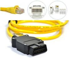 For BMW ENET Ethernet To OBD Interface Cable E-SYS ICOM Coding F-Series V50.3