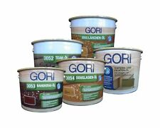 GORI Holzöl 2,5 Liter Pflegeöl Öl für diverse Hölzer •Farbe und Holzart wählbar•