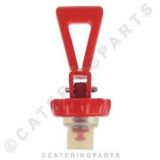 TA25 FULLER GAS HOT WATER TEA BOILER DRAW OFF TAP TOP PLUNGER ASSY RED PLASTIC