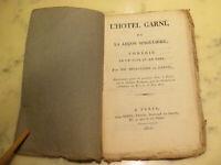 Rare Livret de Comédie 1814 (1ière restauration) l'Hotel GarniComédie Napoléon