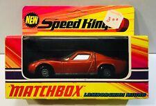 1971 MATCHBOX SUPERKINGS K-24 LAMBORGHINI MIURA DIE-CAST MISP
