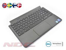 NEW Dell Chromebook 11-3120 Palmrest & Touchpad & NORDIC Keyboard (Black Trim)