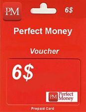 PERFECT MONEY | KOD | ZDRAPKA | VOUCHER | USD 6$ | TOP SPRZEDAWCA | SZYBKO !