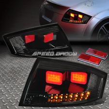 SMOKE BLACK 3D LED BAR BRAKE+SIGNAL TAIL LIGHT FOR 00-06 AUDI TT TYN 8N MK1 PQ34