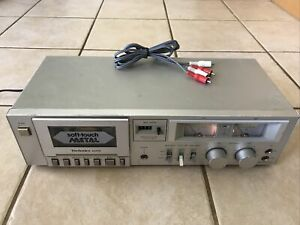 Technics RS-M205 Stereo Soft Touch Metal Cassette Deck Vintage *TESTED*