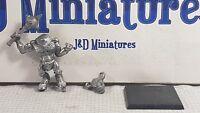 Games Workshop Marauder Warhammer Chaos MM46 - Minotaur with Mace 1992 Metal OOP