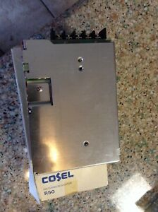 """COSEL Switching Regulator - R5OU-15. 100-120v ac. R50 """"NEW IN BOX"""""""