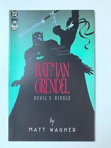 Batman Grendel: Devil's Riddle (DC Comics/Comico, 1993) VF/NM